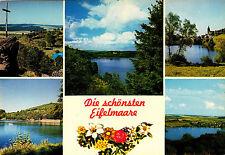 Die schönsten Eifelmaare , ungel. Ansichtskarte