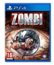 Zombi (Playstation 4 PS4, Region Free, Zombie Horror Exclusive Video Game) NEW