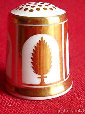 Minton - Gold Classic Ornaments -  Collectors  Thimble
