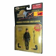 1/18 Scale The Ultimate Soldier German Panzer Grenadier Action Figure