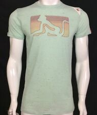 DRUNKNMUNKY 'GLOW EMB OG' SEA MIST SHORT SLEEVE T.SHIRT. BNWT