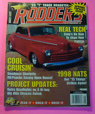 RODDER'S DIGEST MAGAZINE AUG/1998.. SPECIAL TOPLESS ISSUE..REAL TECH