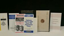 1998 CHRYSLER SEBRING COUPE OEM OWNER'S MANUAL + GUIDES + ORIGINAL CASE.