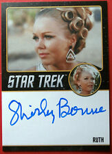STAR TREK TOS 50th, SHIRLEY BONNE as RUTH - VARIANT #1 Autograph Card