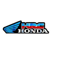 HRC HONDA BLUE WING LOGO CAR MOTORCYCLE BIKE RACING TEAM BADGES STICKERS DECALS