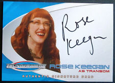 "Thunderbirds The Movie: Rose Keegan as ""Transom"" Auto/Autograph"