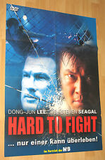 "Hard To Fight ""Steven Seagal"" Filmplakat / Poster A1 ca 60x84cm"