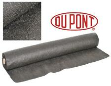 "DUPONT 40' ft x 36"" WEED BARRIER Landscape FABRIC MAT w/Slow Release FERTILIZER"