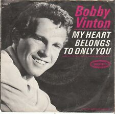Bobby Vinton TEEN 45 & PS (Epic 9662) My Heart Belongs To Only You/Warm And  VG+