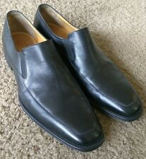 Bally Thor Soft Lambskin Black Loafers sz 10.5 D