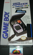 NINTENDO GAMEBOY ADVANCE AND COLOR CARRYING BAG OFFICIAL CASE NEW COMPLETE