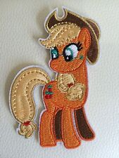 MY LITTLE PONY APPLE JACK Embroidered Iron/sew On Patch