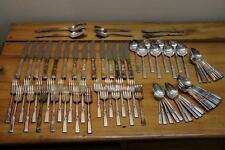 Vintage 78 Piece Oneida Community 1948 Morning Star Silverplate Flatware Lot