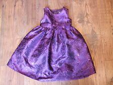 Vestido De Fiesta bebé Niñas Edad 18 - 24 18-24 meses Morado Arco Sparkle Invierno Verano