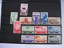 COLONIE ITALIANE LIBIA 1933 VII Fiera di Tripoli COMPLETA 13 v.PO+PA   MNH **