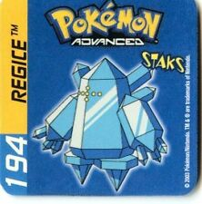 ≈Ω STAKS MAGNET POKEMON ADVANCED (Used) N° 194 REGICE