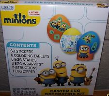 Despicable Me Minions Easter Egg Decorating Kit NEW  60 stickers
