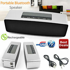 Hi portatile Altoparlante Bluetooth Wireless Stereo potente SMART SUPPORTO TF AUX USB