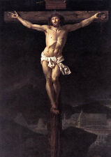 Art Oil painting Jacques Louis David Christ Jesus on the Cross free shipping