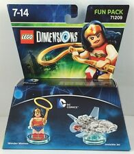 Lego Dimensions Fun Pack DC Wonder Women + Invisible Jet 71209 Neu lieferbar