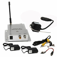 Wireless 2.4GHz Mini Micro 380TVL CCTV Security Camera Transmitter with Receiver