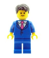 LEGO Wedding Groom Best Man Minifig in Blue Suit NEW Cake Topper