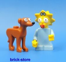 LEGO® THE SIMPSONS SERIE 2 (71009) FIGUR (Nr.04)  MAGGIE SIMPSONS + KENCHT RUPP