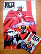 ATLAS UFO ROBOT/GOLDRAKE/MANGA - DVD + PROMO POSTER, 2014, ITALY. SEALED