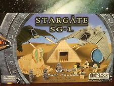 Best -Lock Construction Toys Stargate Sg1 Battle Over Abydos Deluxe Set (Rare)