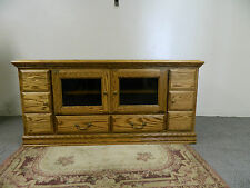 """THOMASVILLE  SOLID  OAK TV CONSOL- 65"""" Wide- Free Delivery in 48 States solid k"""