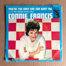 "CONNIE FRANCIS ""IF MY PILLOW COULD TALK/YOU'RE THE ONLY ONE THAT CAN HURT ME"" 45"