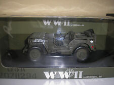 Willys Jeep US Army 1/4 Ton in 1:18 von Welly 18036W