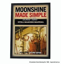 Book Moonshine Made Simple home brew spirit making