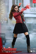 Hot Toys 1/6 Marvel's The Avenger MMS301 Scarlet Witch Collectible Figure