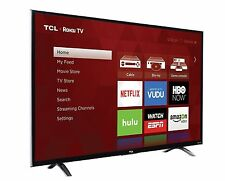 "TCL Roku 43"" 1080p 120Hz LED Smart TV w/ 3000+ Streaminng Channels, WiFi, 3 HDMI"