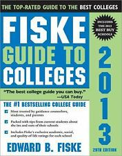 Fiske Guide to Colleges 2013, 29E, Fiske, Edward, Good Condition, Book