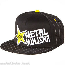 METAL MULISHA ROCKSTAR BARS FLEXFIT FITTED HAT SM MD FITS 7 - 7 1/8 - 7 1/4 NEW