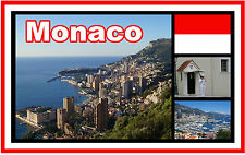 MONACO - SOUVENIR NOVELTY FRIDGE MAGNET - BRAND NEW - GIFT