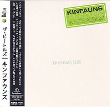 BEATLES ACOUSTIC WHITE ALBUM KINFAUNS CD MINI LP OBI