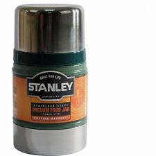 NEW 0.5L STANLEY CLASSIC VACUUM FOOD JAR FLASK STAINLESS STEEL HOT COLD THERMOS