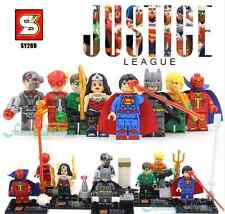LEGO BATMAN V SUPERMAN JUSTICE LEAGUE WONDER WOMAN FLASH GREEN LANTERN BLOCKS