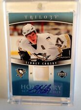 2006-07 Sidney Crosby Auto Trilogy Honorary Upper Deck /10 Rare