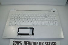 Toshiba Satellite L50-B-1N8 Palmrest UK Keyboard Top WHITE Plastic A000295780
