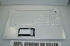Toshiba Satellite L50-B-235 Palmrest UK Keyboard Top WHITE Plastic A000295780