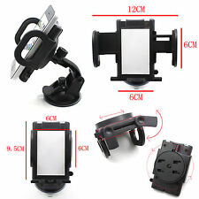 "Car Windshield 360° Rotating Mount Holder for 7"" GPS Tablet iPhone Smartphone"