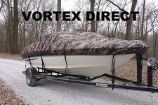 NEW VORTEX CAMO COMBO PACK HEAVY DUTY 20 - 22' BOAT COVER + SUPPORT SYSTEM