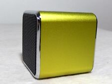 NWB Music Angel MD07 Digital Speaker W/ build in FM Radio& SD/TF Card, GLD Green