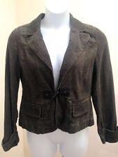 New Ann Taylor Loft 12 Jacket Green Corduroy