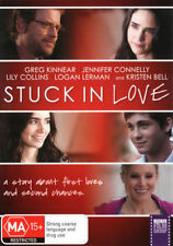 Stuck In Love DVD Movie TOP 1000 MOVIES BRAND NEW SEALED Region 4 FREE POSTAGE
