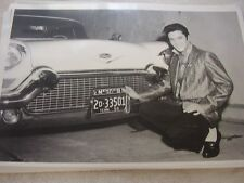 1957 CADILLAC ELVIS PRESLEY NEW CAR  12 X 18 LARGE PICTURE   PHOTO